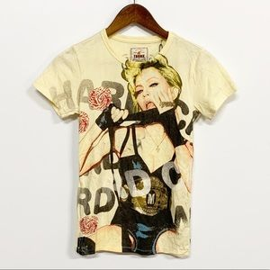 Trunk Ltd. | Madonna Yellow Graphic Tee M NEW